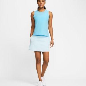 """Nike Women's Flex 15"""" Golf Skirt L New"""